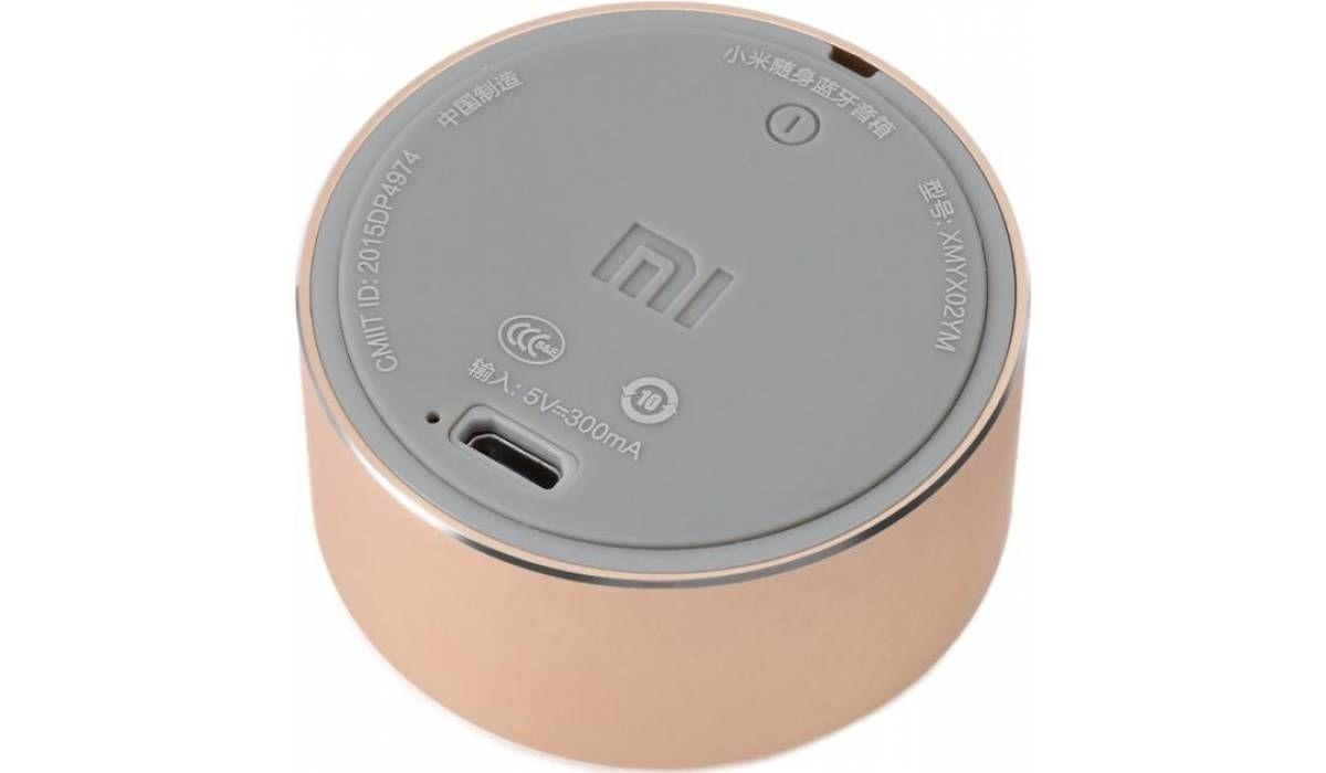 Портативные колонки Xiaomi Mi Cannon Little Audio/Portable Round Box