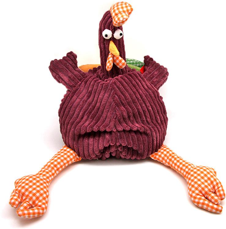 Мягкая игрушка Jackie Chinoco Петух Барри, 12146/15, сиреневый