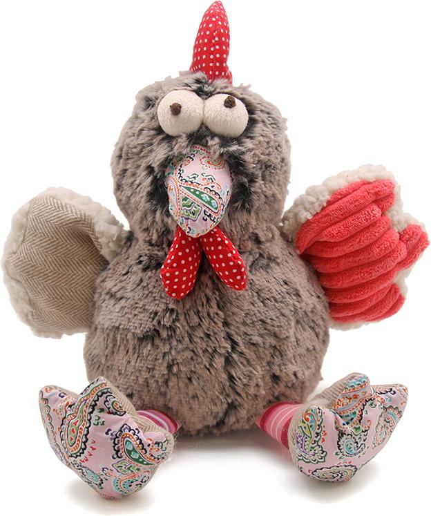 Мягкая игрушка Jackie Chinoco Петух Джефф, F1096/8 мягкая игрушка jackie chinoco петус джейси 13107 8 5