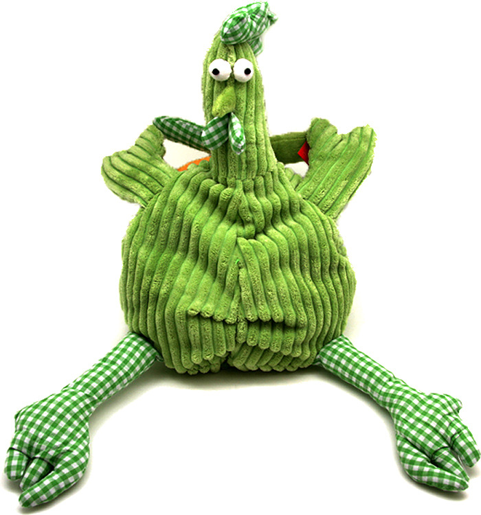 Мягкая игрушка Jackie Chinoco Петух Барри, 12146/15-А, зеленый