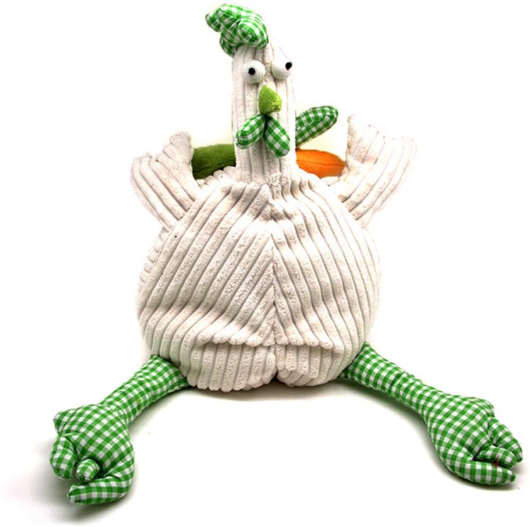 Мягкая игрушка Jackie Chinoco Петух Барри, 12146/15-B, белый