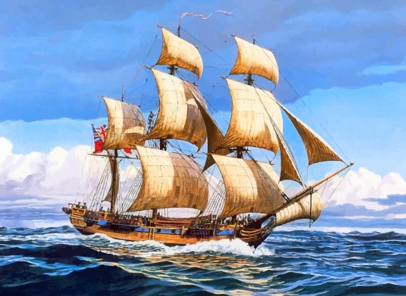 картинки на морскую тематику с кораблем отбора