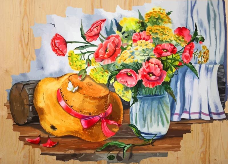 Картина по номерам Color Kit Раскраски по номерам на дереве DER007 раскраски по номерам на дереве ласковое море картина по номерам на дереве der002
