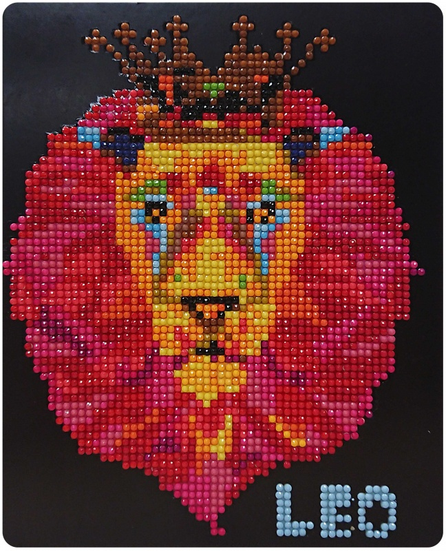 Алмазная мозаика Color Kit Алмазная картина 17х21 mk8 aluminum extruder kit with nema 17 stepper motor 1 75mm for 3d printer reprap prusa i3