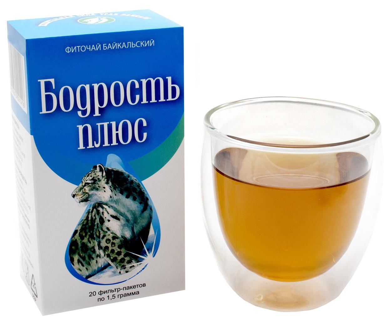 Фото - Чай в пакетиках Фиточаи Байкальские Бодрость Плюс, 20 шт по 1.5 г чай в пакетиках фиточаи байкальские женский лечебный с боровой маткой 20 шт по 1 5 г
