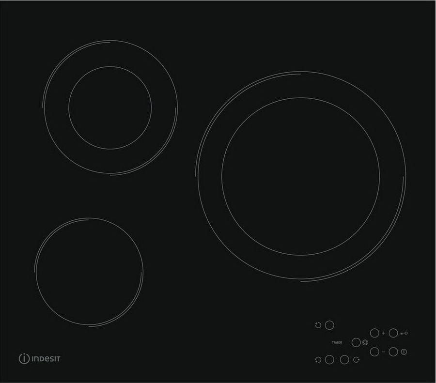 все цены на Варочная панель Indesit RI 360 C, черный онлайн
