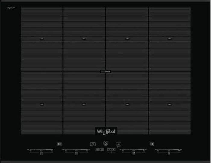 Варочная панель Whirlpool SMO 658C/BT/IXL, черный Whirlpool