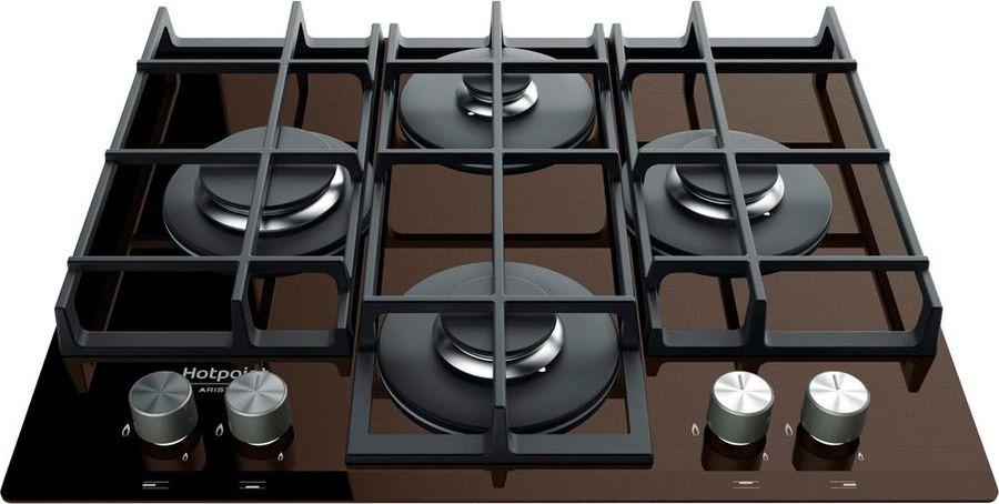 Варочная панель Hotpoint-Ariston TQG 641 /HA (CF), газовая, коричневый все цены