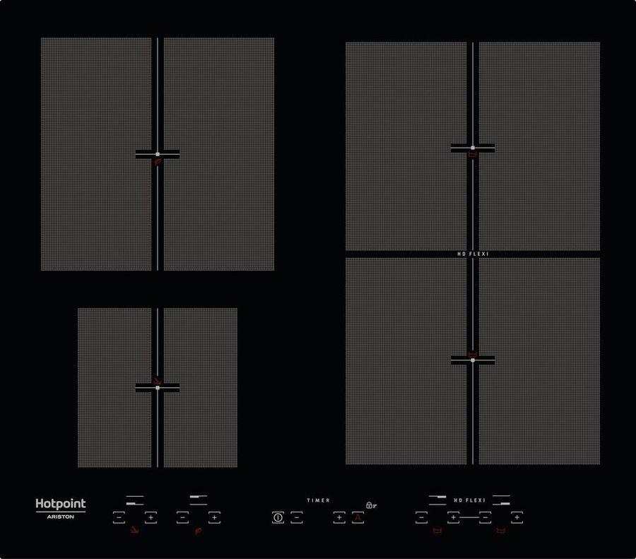 Варочная панель Hotpoint-Ariston KIT 641 F B, черный