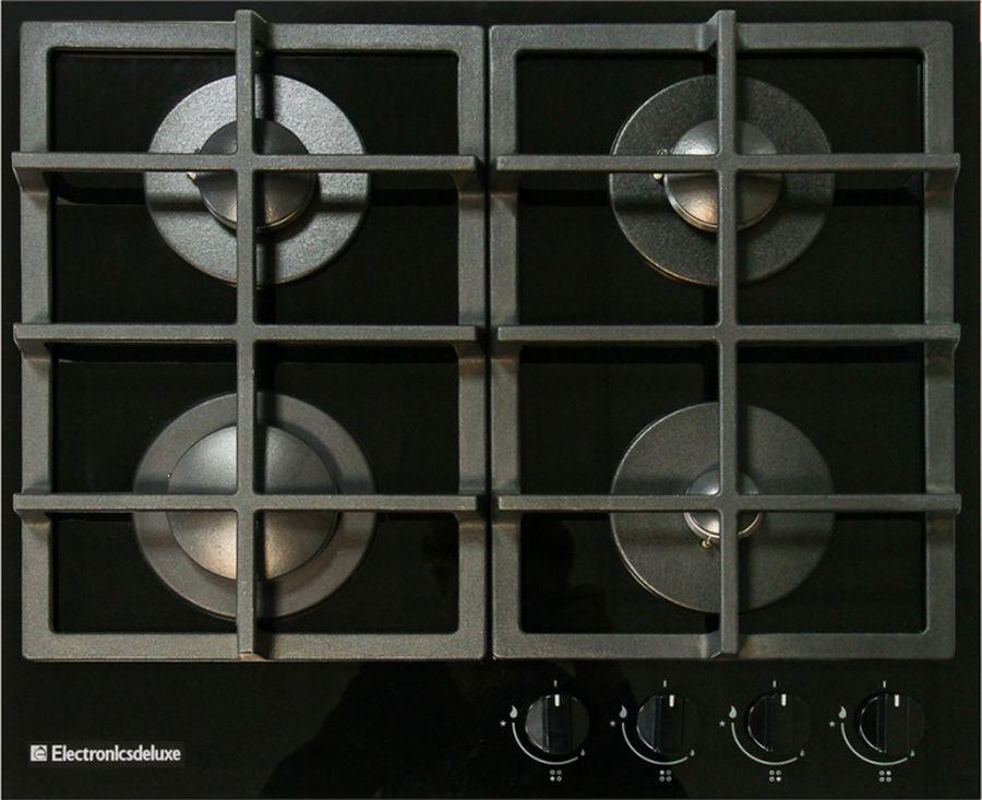 Варочная панель Electronicsdeluxe GG4_750229F-011, газовая, черный все цены