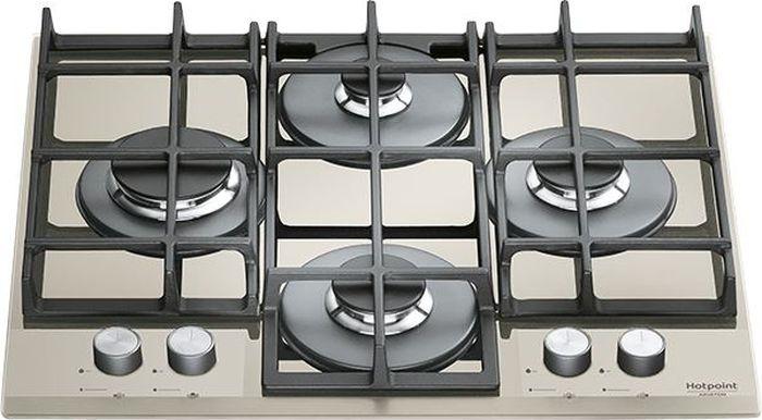 Встраиваемая газовая варочная панель Hotpoint-Ariston TQG 641 /HA(DS), silver