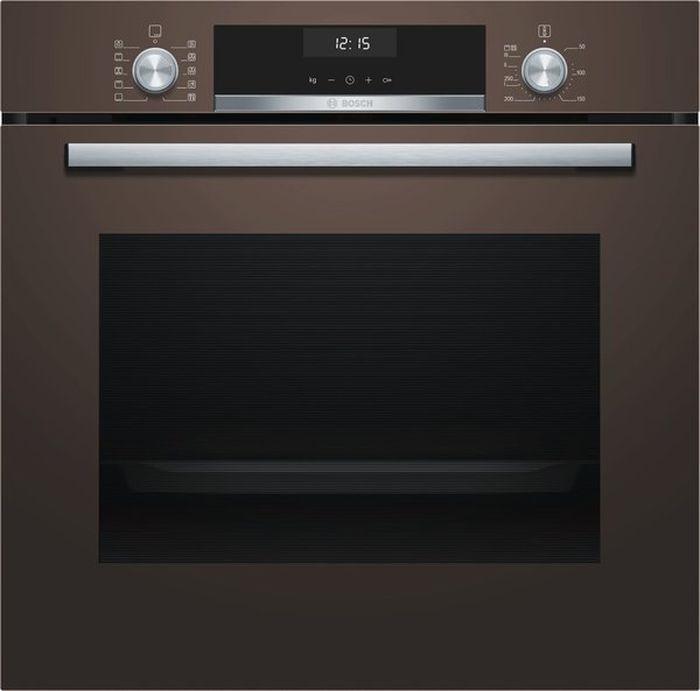 Духовой шкаф Bosch HBG537YM0R, коричневый цена