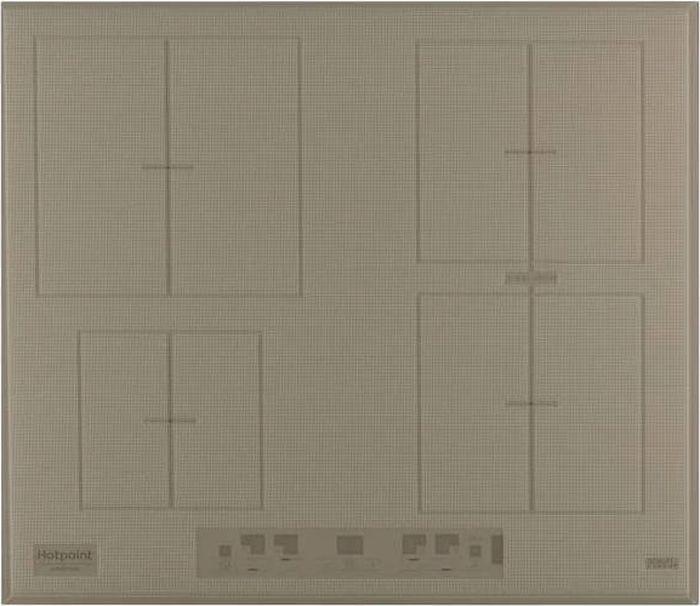 Встраиваемая электрическая варочная панель Hotpoint-Ariston KIA 641 B B DS, beige