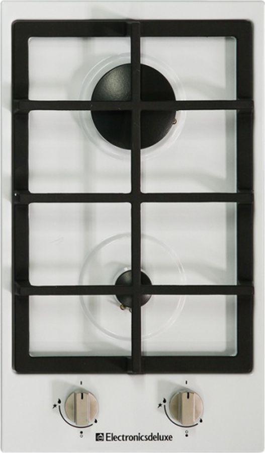 Варочная панель Electronicsdeluxe TG2_400215F-003, газовая, белый
