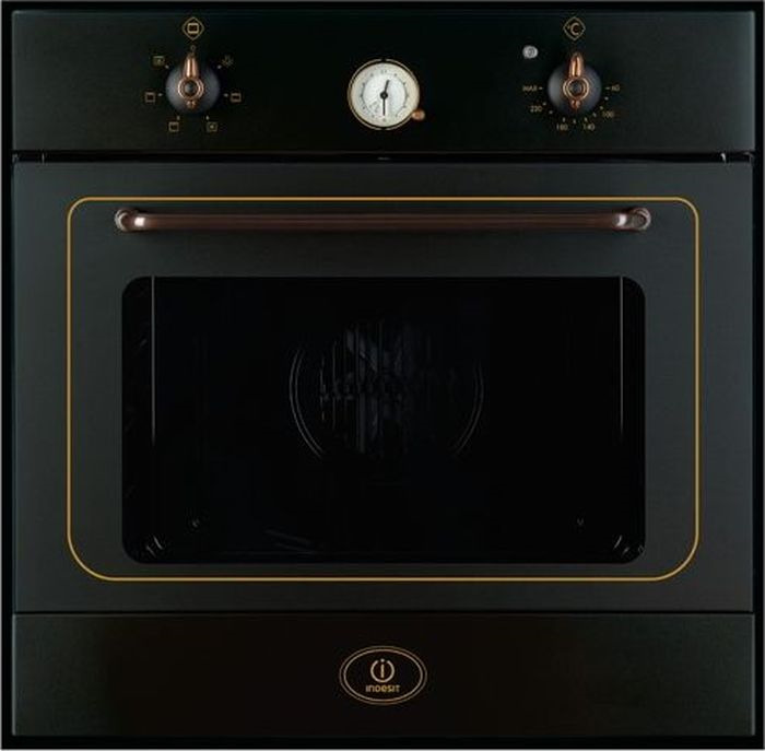 Встраиваемый электрический духовой шкаф Indesit FMR 54 K.A (AN), black цена и фото