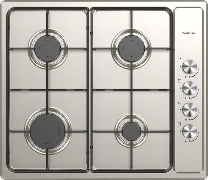 Встраиваемая газовая варочная панель Darina 1T1 BGM341 12 X, silver цена и фото