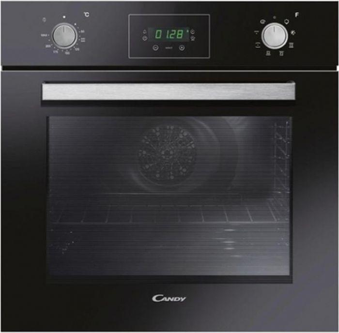 Духовой шкаф Candy FCP615NX, электрический, встраиваемый, черный цена и фото