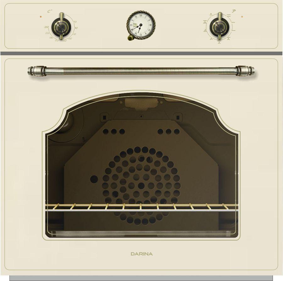 Духовой шкаф Darina 1V8 BDE111 707 Bg, встраиваемый, электрический, бежевый духовой шкаф darina 1u8 bde112 707 bg