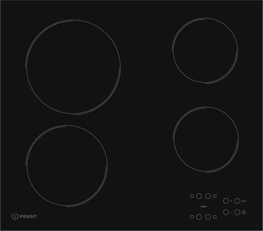 Варочная панель Indesit RI 161 C, черный