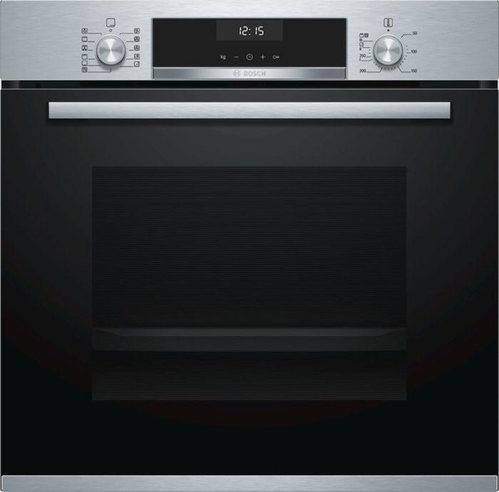 Духовой шкаф Bosch HBH557CS0R, серебристый цена и фото