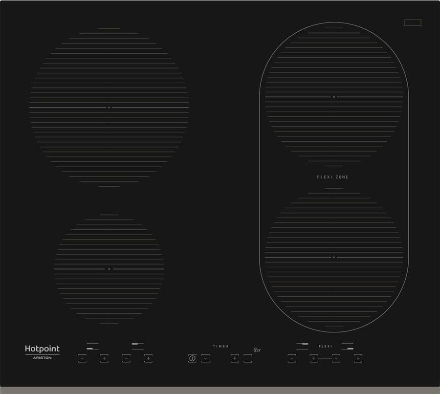 Варочная панель Hotpoint-Ariston IKID 641 B F, черный