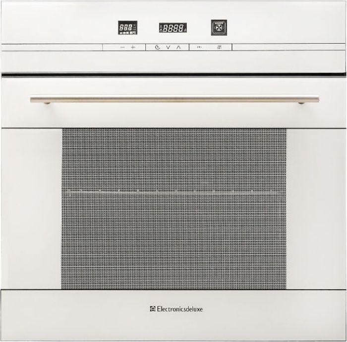 Духовой шкаф Electronicsdeluxe 6006.04эшв-020, встраиваемый, электрический, белый встраиваемая электрическая духовка electronicsdeluxe 6009 02 эшв 012
