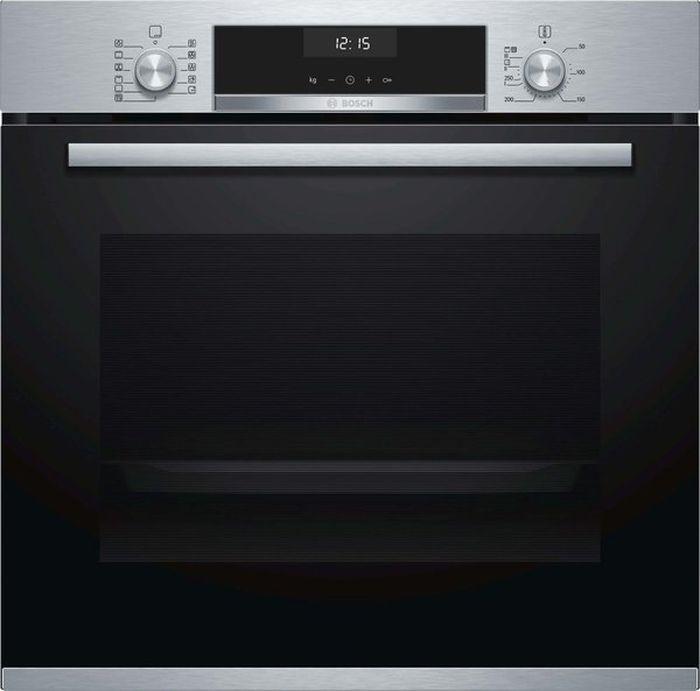 Духовой шкаф Bosch HBG557SS0R, серебристый цена и фото