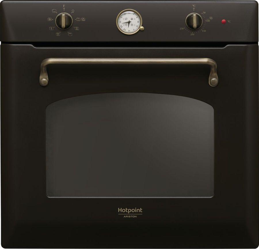 Духовой шкаф Hotpoint-Ariston FIT 804 H AN HA, электрический, встраиваемый, черный