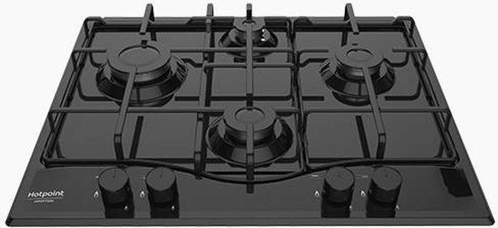 Варочная панель Hotpoint-Ariston PCN 642/HA(BK), газовая, черный