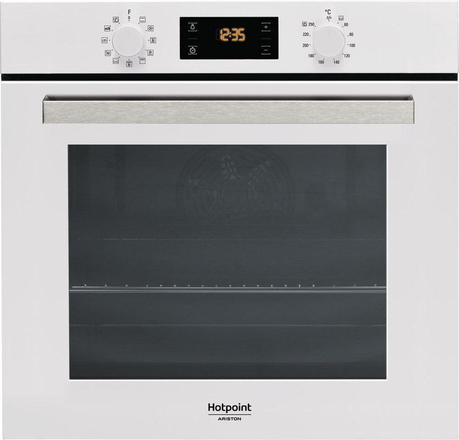 Духовой шкаф Hotpoint-Ariston FA3 841 H WH HA, встраиваемый, электрический, белый