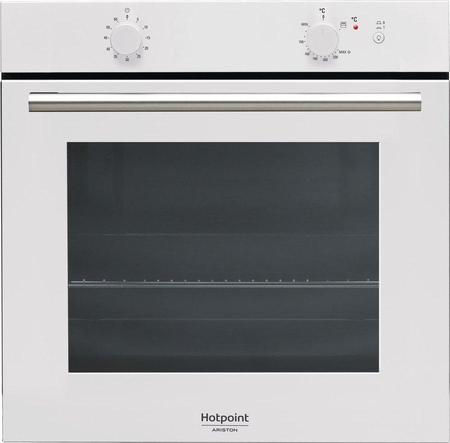 Встраиваемый газовый духовой шкаф Hotpoint-Ariston GA2 124 WH HA, white духовой шкаф hotpoint ariston ga2 124 bl