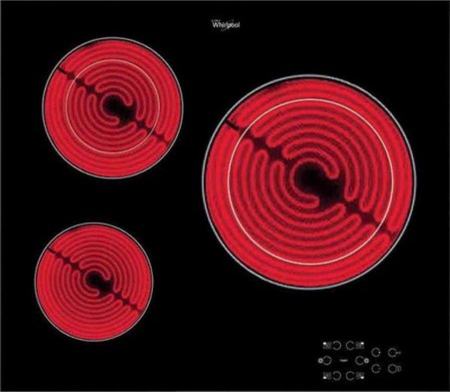 лучшая цена Варочная панель Whirlpool AKT 8030/NE, черный