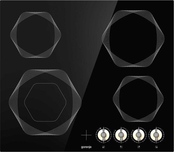 Встраиваемая электрическая варочная панель Gorenje EC642INI, black