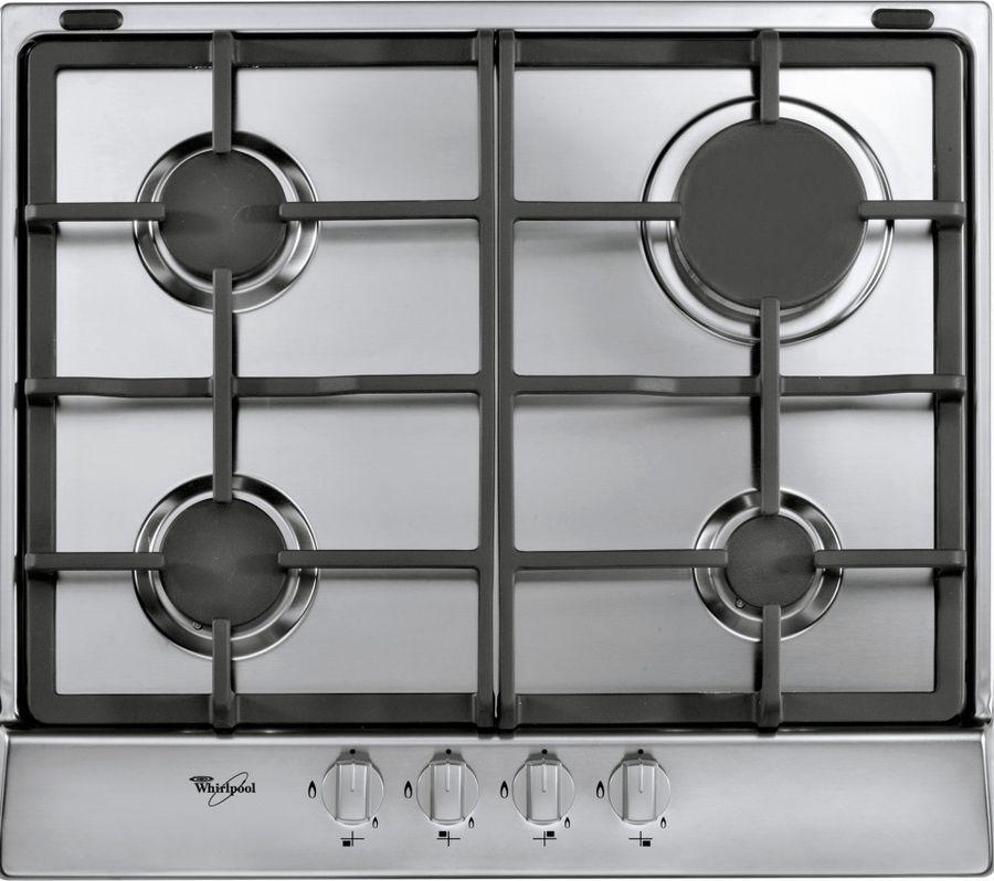 Встраиваемая газовая варочная панель Whirlpool AKR 351/IX, silver