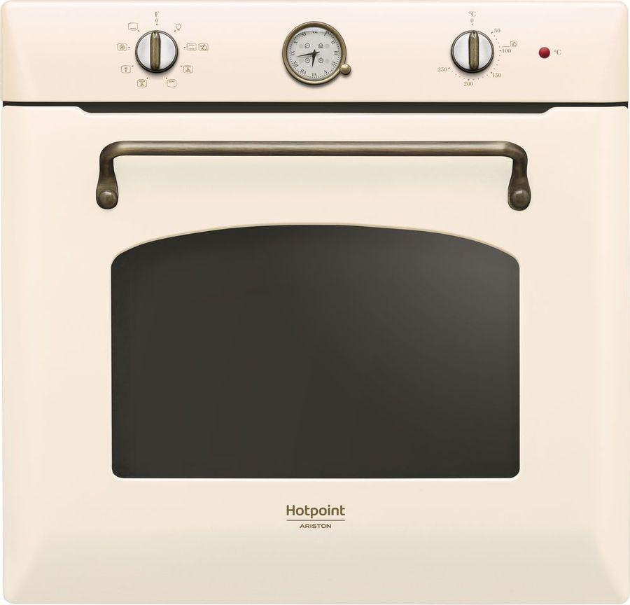 Встраиваемый электрический духовой шкаф Hotpoint-Ariston FIT 804 H OW HA, beige духовой шкаф hotpoint ariston 7oftr 850 ow бежевый