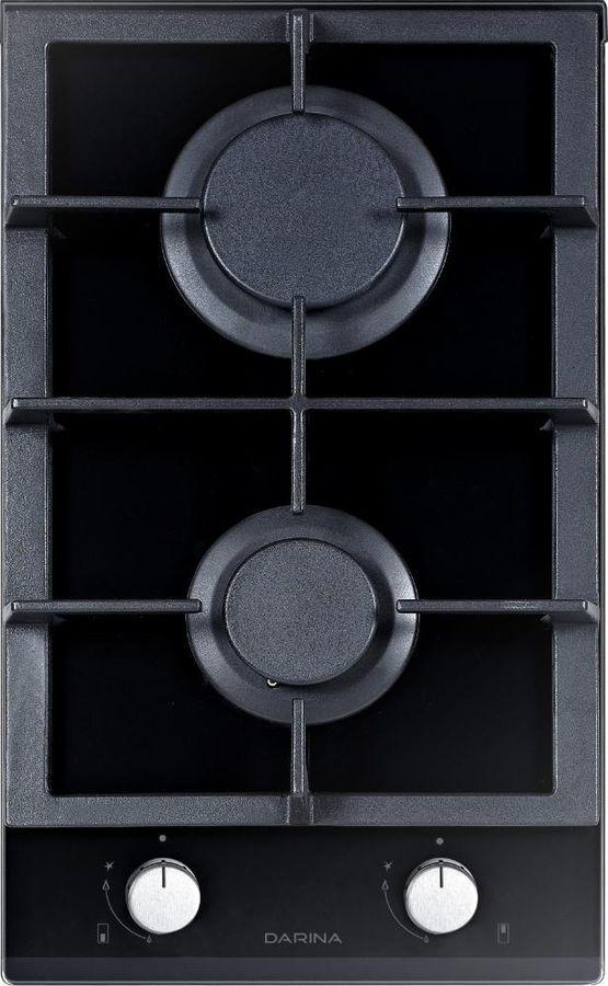 Встраиваемая газовая варочная панель Darina 1T2 C523 B, black