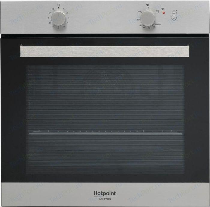 Духовой шкаф Hotpoint-Ariston GA3 124 IX HA, серебристый духовой шкаф hotpoint ariston ga3 124 ix ha