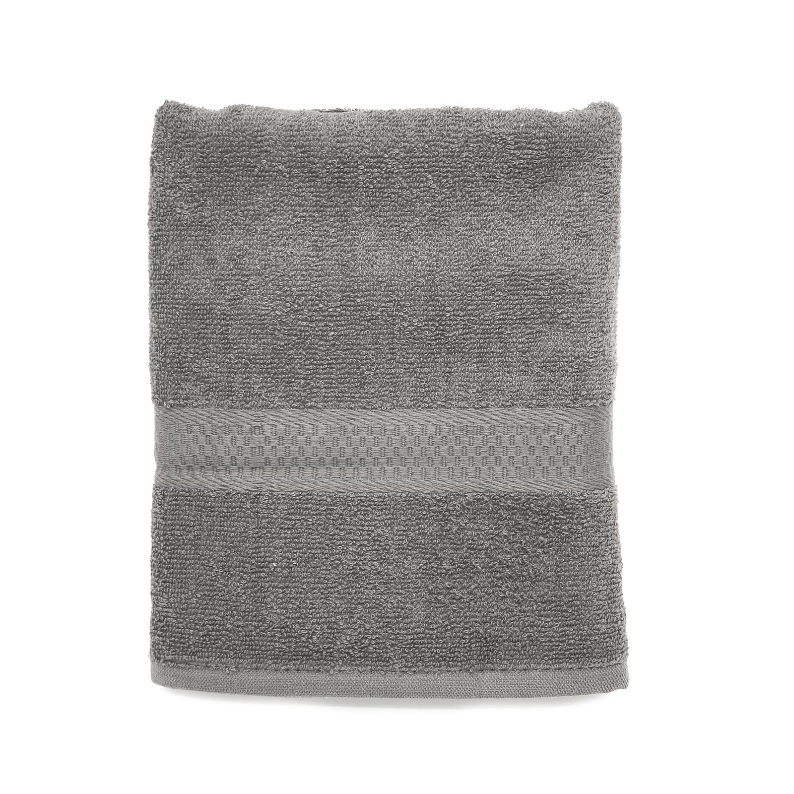 Полотенце банное Spany, 21311318186, махровое, серый, 50 х 90 см полотенце банное fiesta arabesca 50 90 см