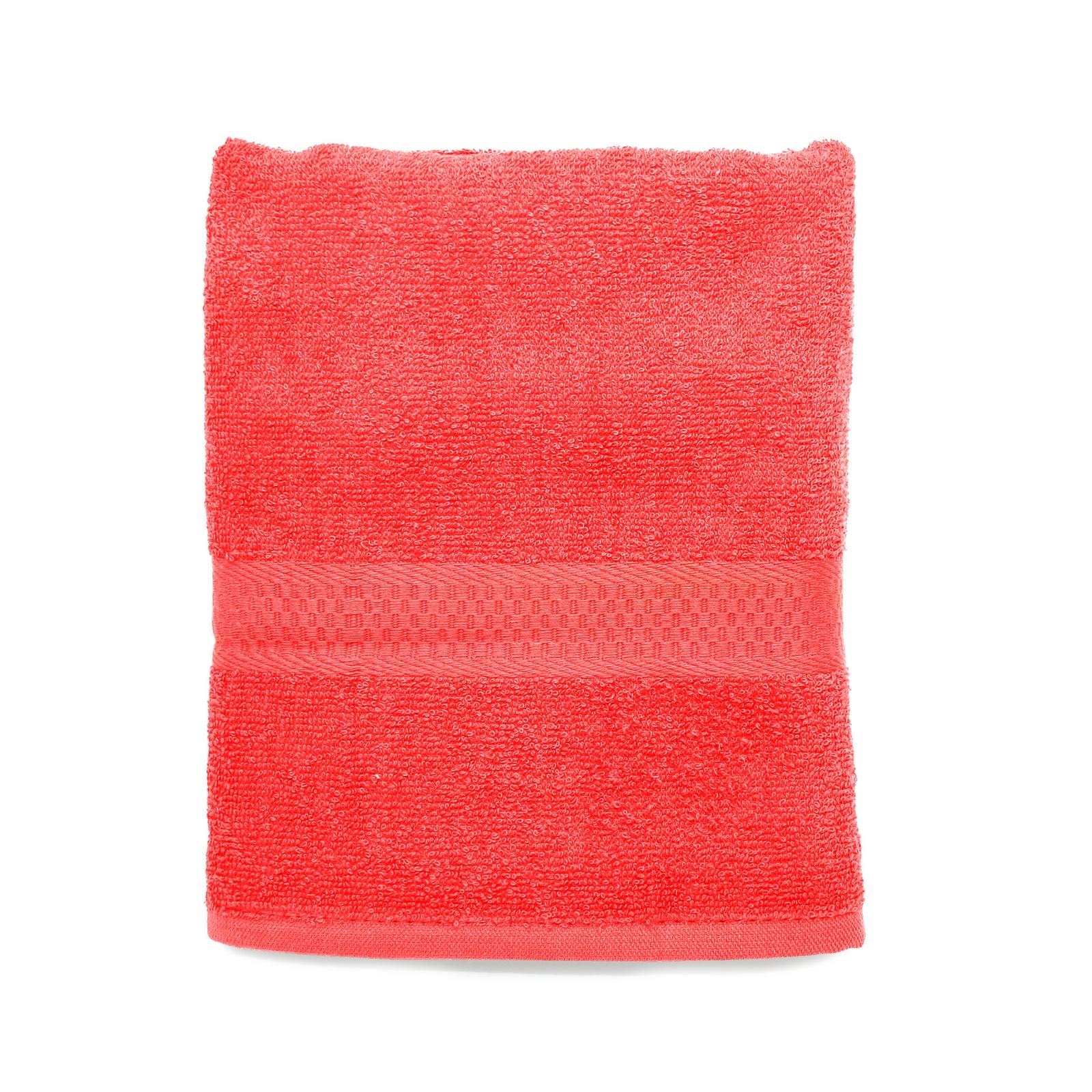 цена на Полотенце банное Spany, 21311318192, махровое, красный, 70 х 130 см