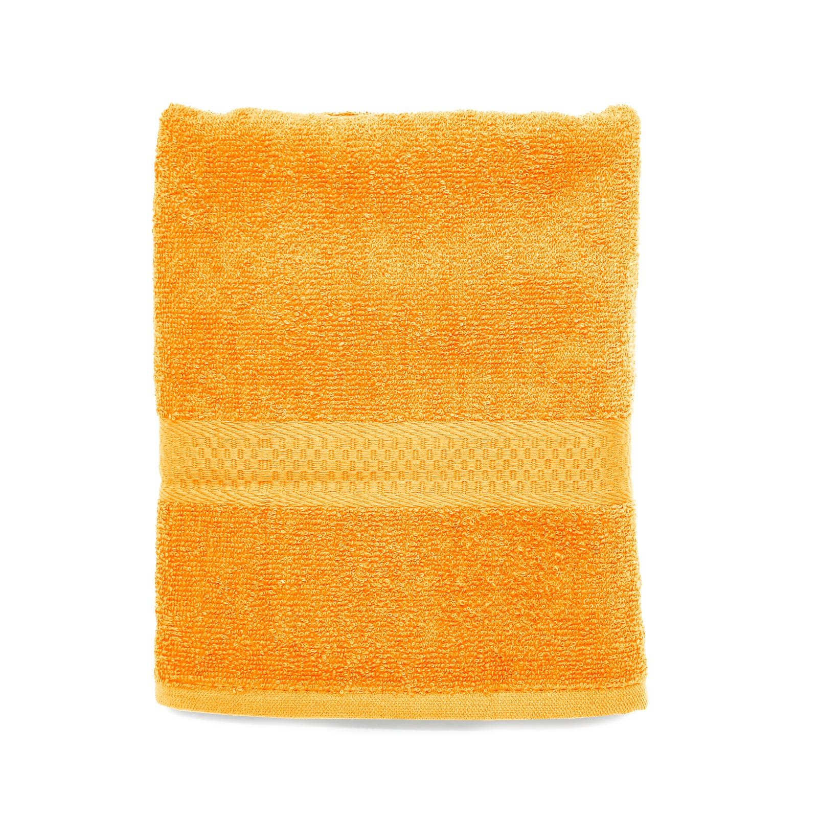 Полотенце банное Spany махровое, 21311318193, оранжевый, 130х70 см крестильная одежда alivia kids крестильное полотенце с крестом 130х70 12 701