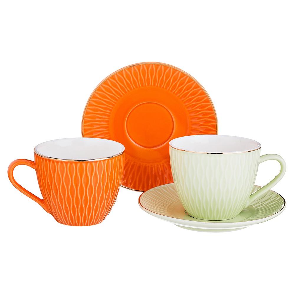 Набор чайный Lefard Яркое настроение на 2 персоны, LF-389/475 набор чайный на 2 персоны c622as622a l6 yg01 2 розовый 4 предмета