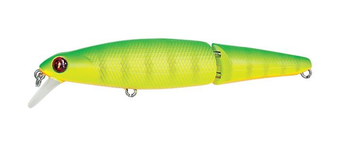 Воблер Pontoon21 Pacer, 2-x частн., плавающий, 75мм., 5.8 гр., 0.5-1.0 м., №170P21-PCR-75JF-SR-170Серия Pacer от Pontoon21® – это составные воблеры-минноу со средним заглублением, предлагаемые в двух размерах – 75 и 90 мм. Название указывает на особенность этих воблеров: Pacer означает «иноходец». Эти воблеры обладают необычной, но очень стабильной игрой. Коротко её можно охарактеризовать как «два в одном». В отличие от традиционных составных воблеров-минноу, Pacer обладает роллингом и, таким образом, способен генерировать два типа колебаний – роллинг (колебания с боку набок относительно продольной оси) и вобблинг (поперечные колебания вправо-влево). Конструкция сочленения такова, что не нарушает плавность игры Pacer. Неспешная равномерная проводка Pacer, во время которой он энергично извивается составным телом, уже достаточна для того, чтобы у любого хищника сдали нервы. Но этим движениям можно придать ещё больше выразительности, применяя приёмы активной анимации, то есть рывковую проводку ( твичинг) и лёгкий джеркинг. Именно после рывка, в фазах свободного скольжения и остановки Pacer продолжает колебаться, активно раскачиваясь и размахивая при этом хвостом. Устоять от такого соблазна невозможно, и атака хищника следует незамедлительно. Основные приёмы анимации плавающих версий (F)и версий с нейтральной плавучестью (SP) аналогичны приёмам, описанным для серии Tantalisa от Pontoon21®. Pacer заслужил высокую репутацию не только у спиннингистов, в уловах которых преобладают щука и окунь, но и у охотников за лососем, успешно использующих эти воблеры в бурных реках. Все моде...