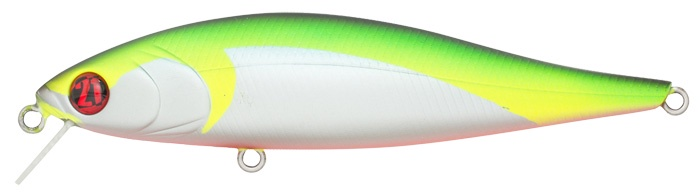 Воблер PONTOON 21, Bet-A-Minnow 102SP-SR, 102мм, 16.4 гр., 0.3-0.5 м., №R37