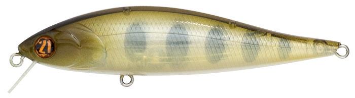 Воблер PONTOON 21, Bet-A-Minnow 92SP-SR, 92мм, 12.2 гр., 0.3-0.5 м., №351P21-BAM-92SP-SR-351Семейство воблеров Bet-A от Pontoon21® завоевало высокую репутацию среди рыболовов разных стран своими исключительными способностями при ловле на мелководье, а также в узком слое чистой воды над подводными зарослями. Такие модели называют Wake Up, то есть «пробуждающие», поскольку своей активной игрой они способны поднять хищника даже с приличной глубины. Яркие пируэты в ограниченном пространстве наряду с эффективным поиском и обловом больших акваторий в высоком темпе тоже в числе преимуществ семейства Bet-A. Bet-A-Minnow, Bet-A-Shiner, Bet-A-Shad в разнообразии длин и степеней плавучести могут составить идеальный комплект для вашей рыбалки. Серия Bet-A-Minnow отличается от привычных воблеров-минноу тем, что способна играть и как лучший представитель своего класса, и в то же время как заправский воблер класса «шед». Две сущности в одном теле, что делает серию уникальной по возможностям, с активной самостоятельной игрой, облегчающей управление приманкой для начинающих. Лопасть из прочного фибергласса, с одной стороны, имеет достаточный размер, чтобы создать необходимое для игры лобовое сопротивление, а с другой стороны практически не создаёт помех при поворотах тела воблера вправо-влево относительно продольной оси (выраженный роллинг). При равномерной проводке эти движения, сочетаясь с поперечными колебаниями, создают движение, называемое свимминг, максимально приближенное к естественному, и крайне редко встречающееся у воблеров-минноу. Внутренняя система баланса включает движ...
