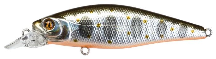 Воблер Pontoon21 SapShad плавающий, P21-SSH-65F-SR-050, 65 мм, 6.25 гр, 0.4-0.7 м