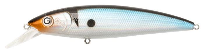 Воблер GAD BONUM 105SP-SR, 105 мм, 19.2 гр, 1.0-1.4, цвет 007