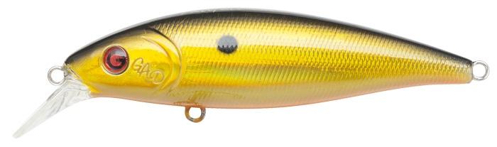 Воблер GAD PROG 80F-SR, 80 мм, 12.5.гр, 0.6-0.9, цвет 001 воблер gad prog 80f sr 001 80mm 12 5g