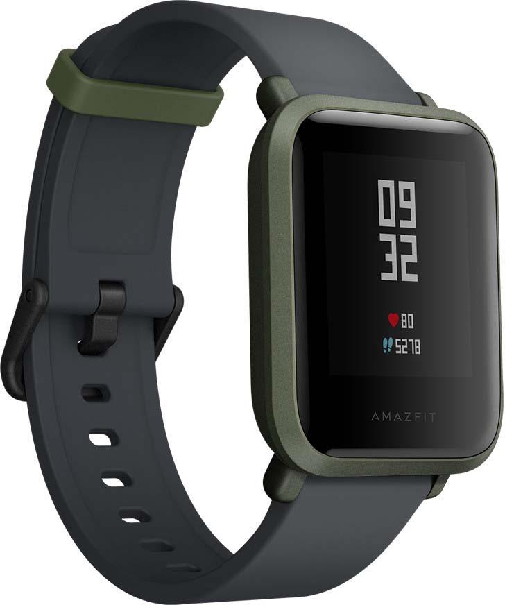 Умные часы Xiaomi Amazfit Bip, темно-зеленый (9202)