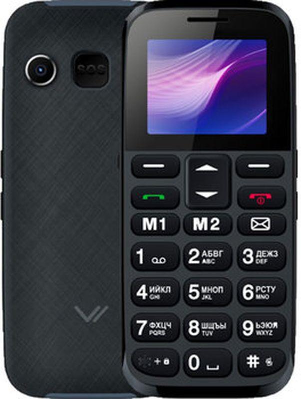 Мобильный телефон Vertex C313 Black/Blue