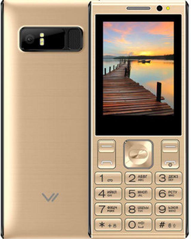 Мобильный телефон Vertex D536, золотой
